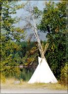 TeePee By the Lake