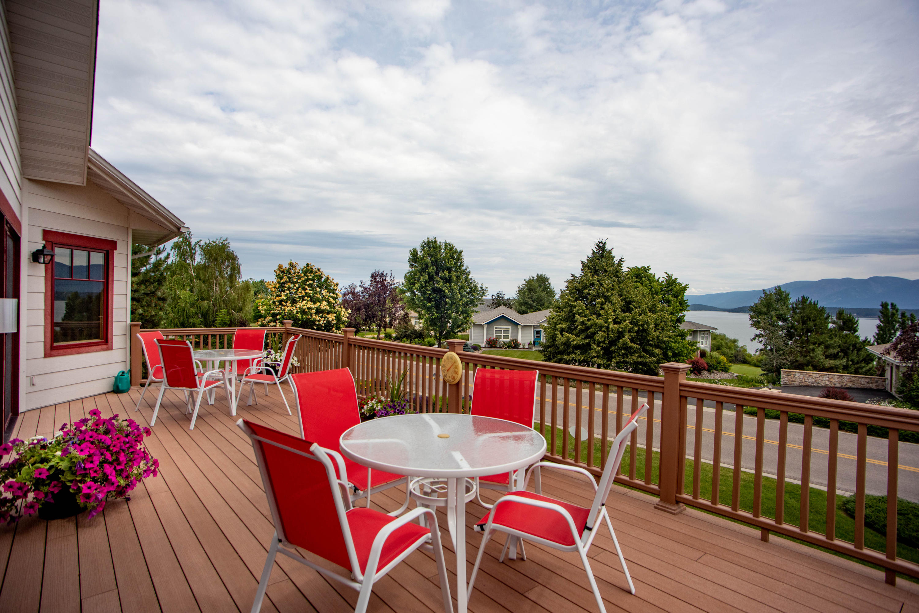 Main Level Deck with Views