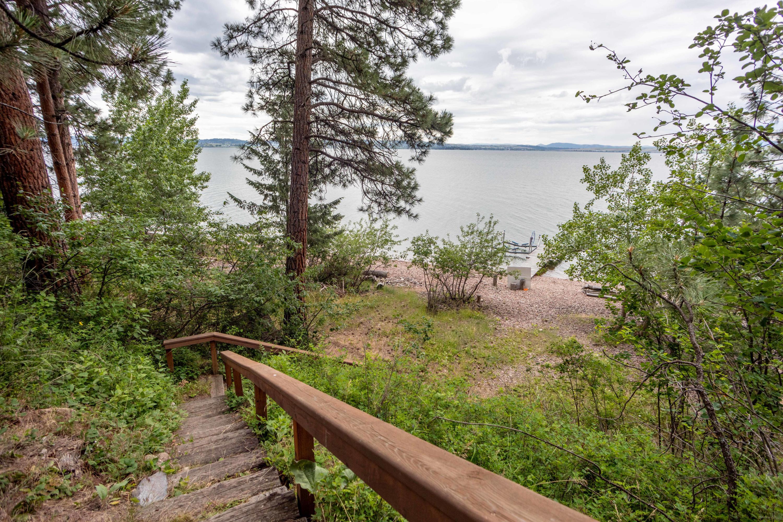 Stairs to Lake