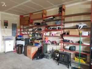Garage Built-in Shelves