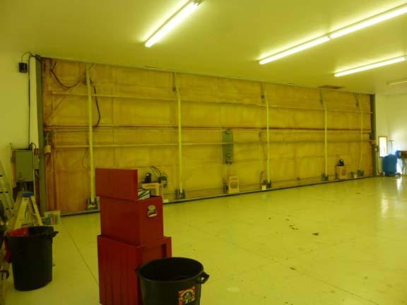 Interior Hangar Main door