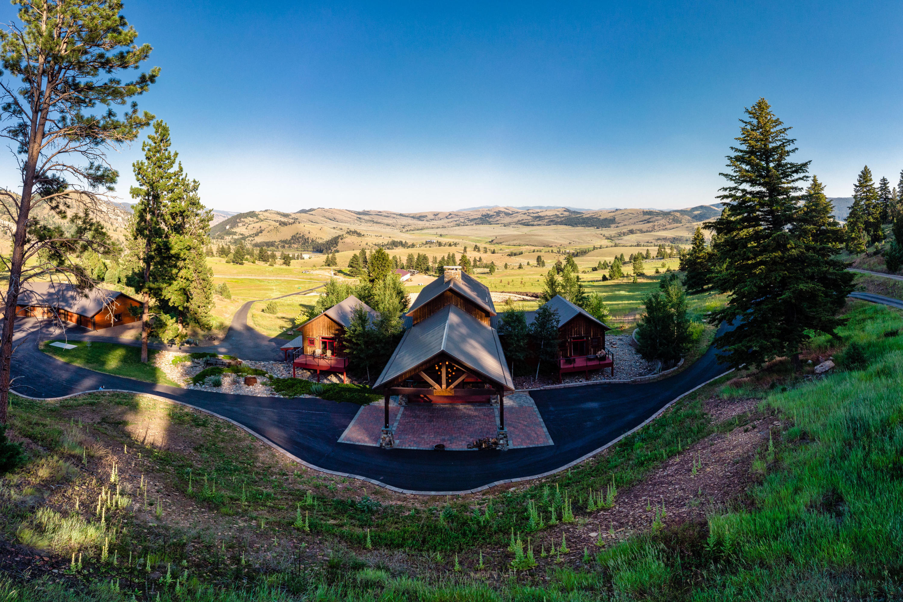Home for Sale at Bearmouth Legacy Ranch in Drummond, Montana