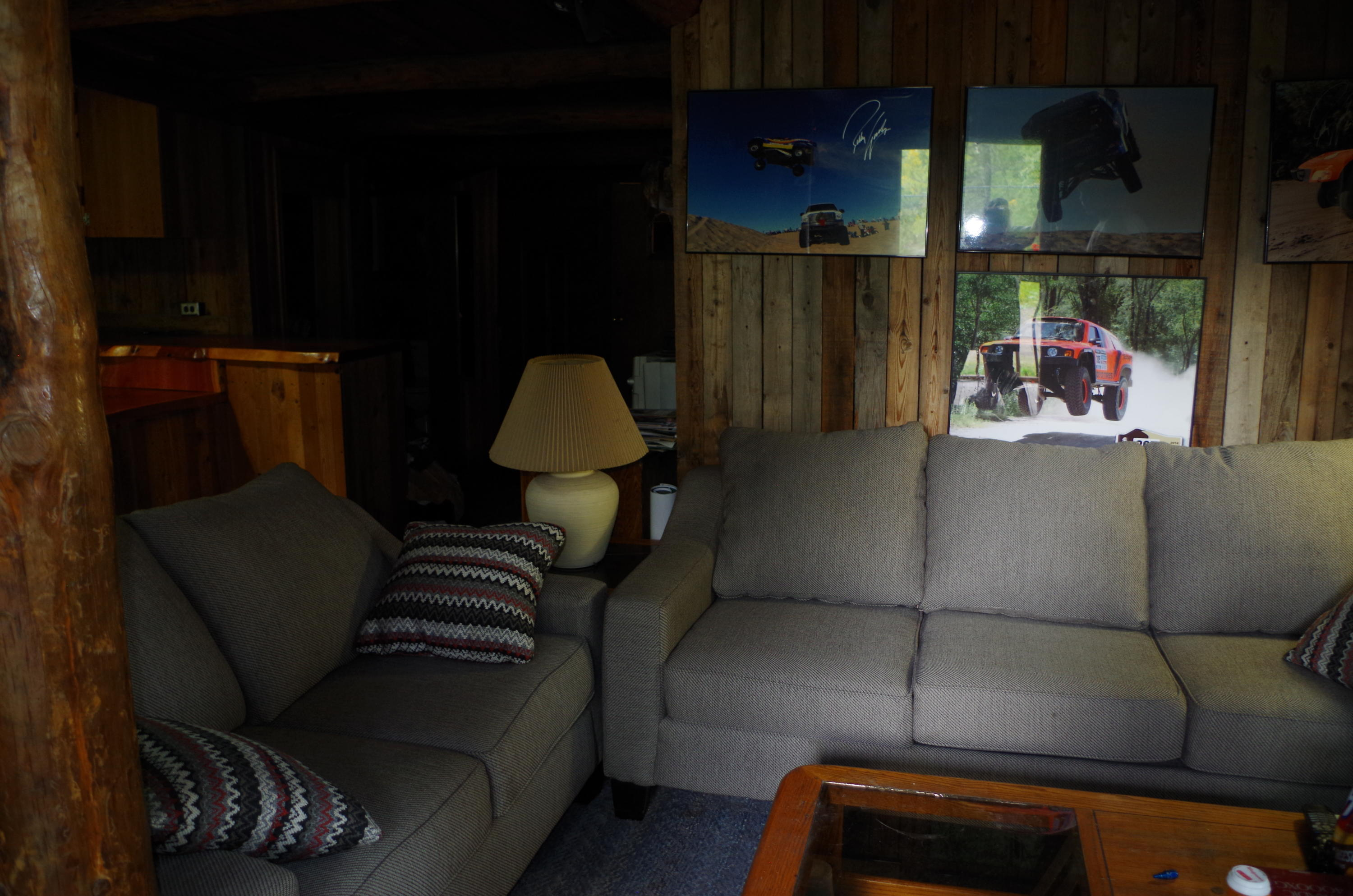 Guest Cabin LIving