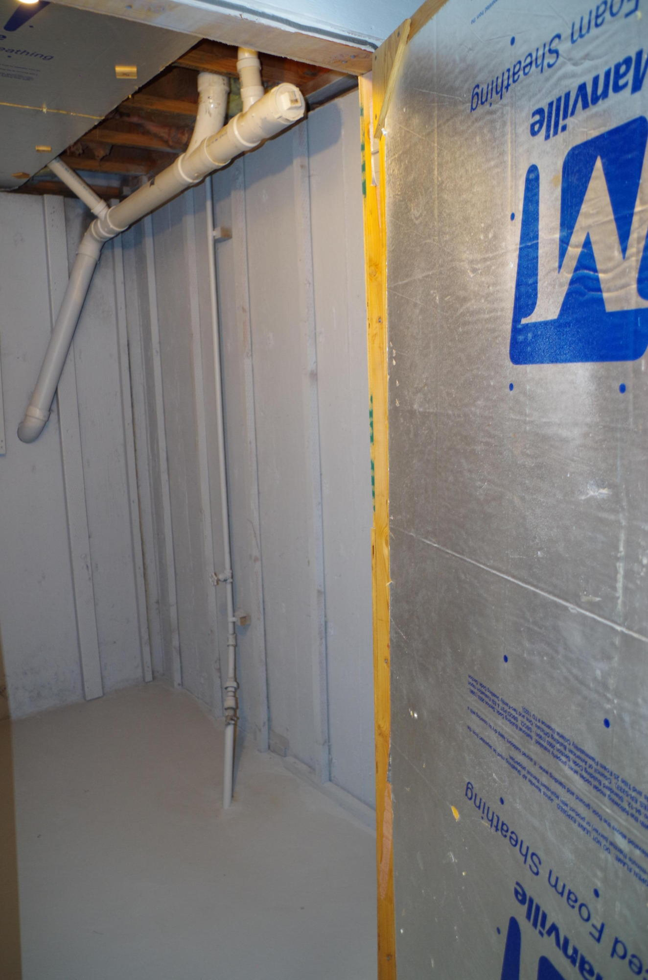 Basement Cold Storage Room