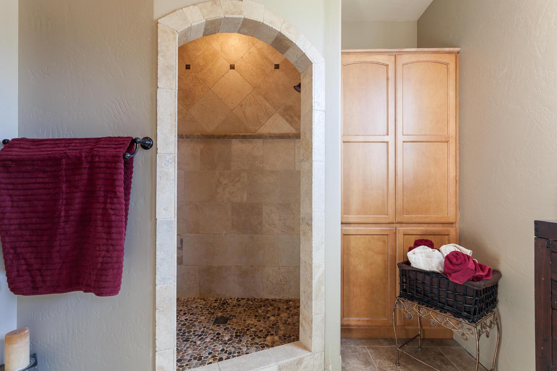Wak-In Tile Shower