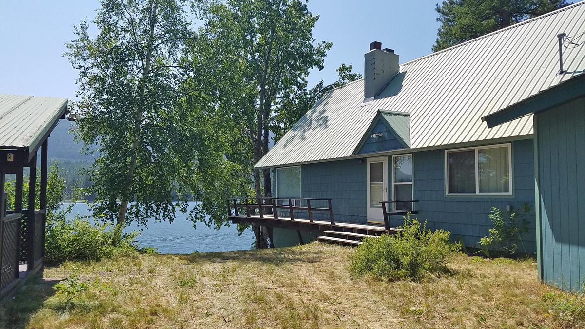 Home on Swan Lake