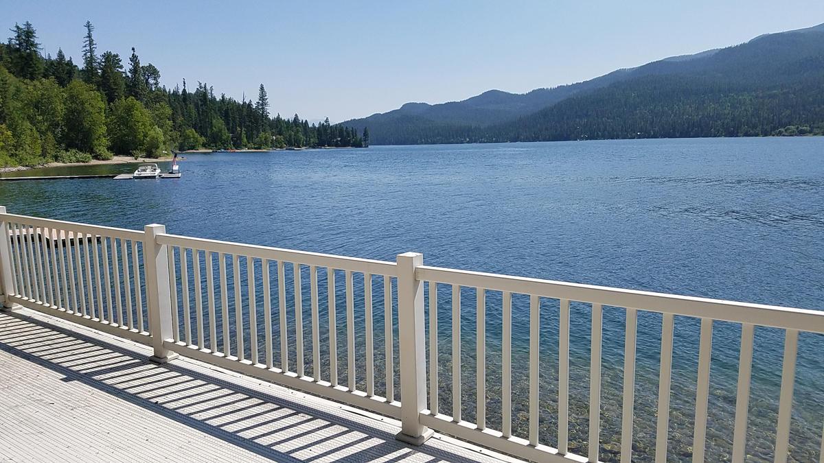 Lakefront Deck views