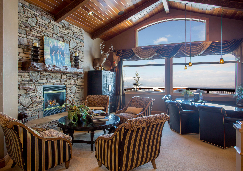 Living area bar
