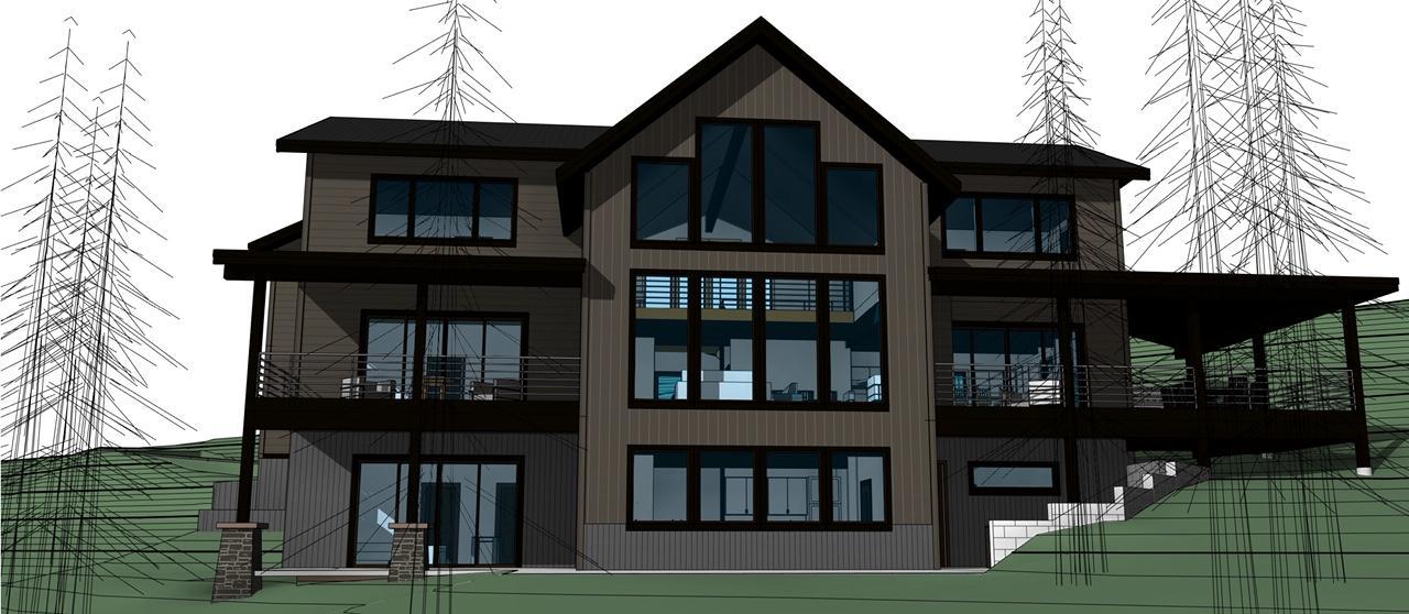 154 Ridge Run Residence - 3D View - 3D V