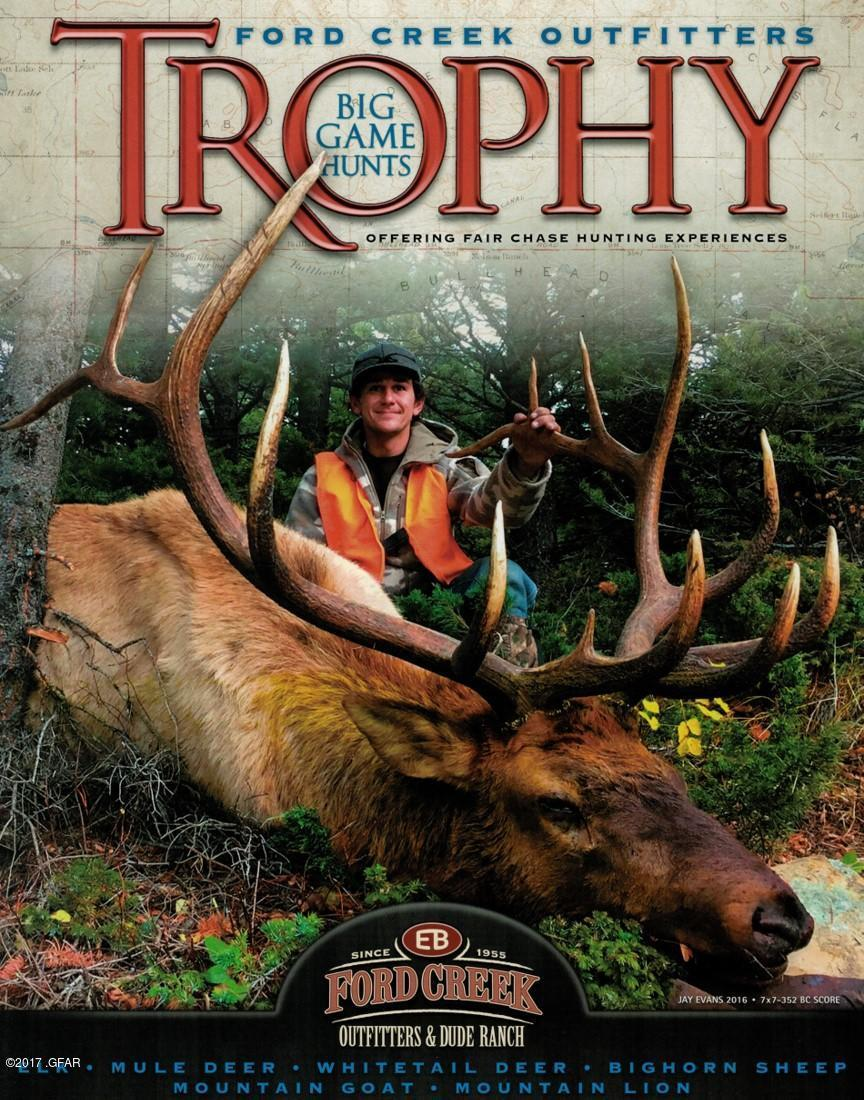 Ford Creek Outfitters Trophy Big Game Hu