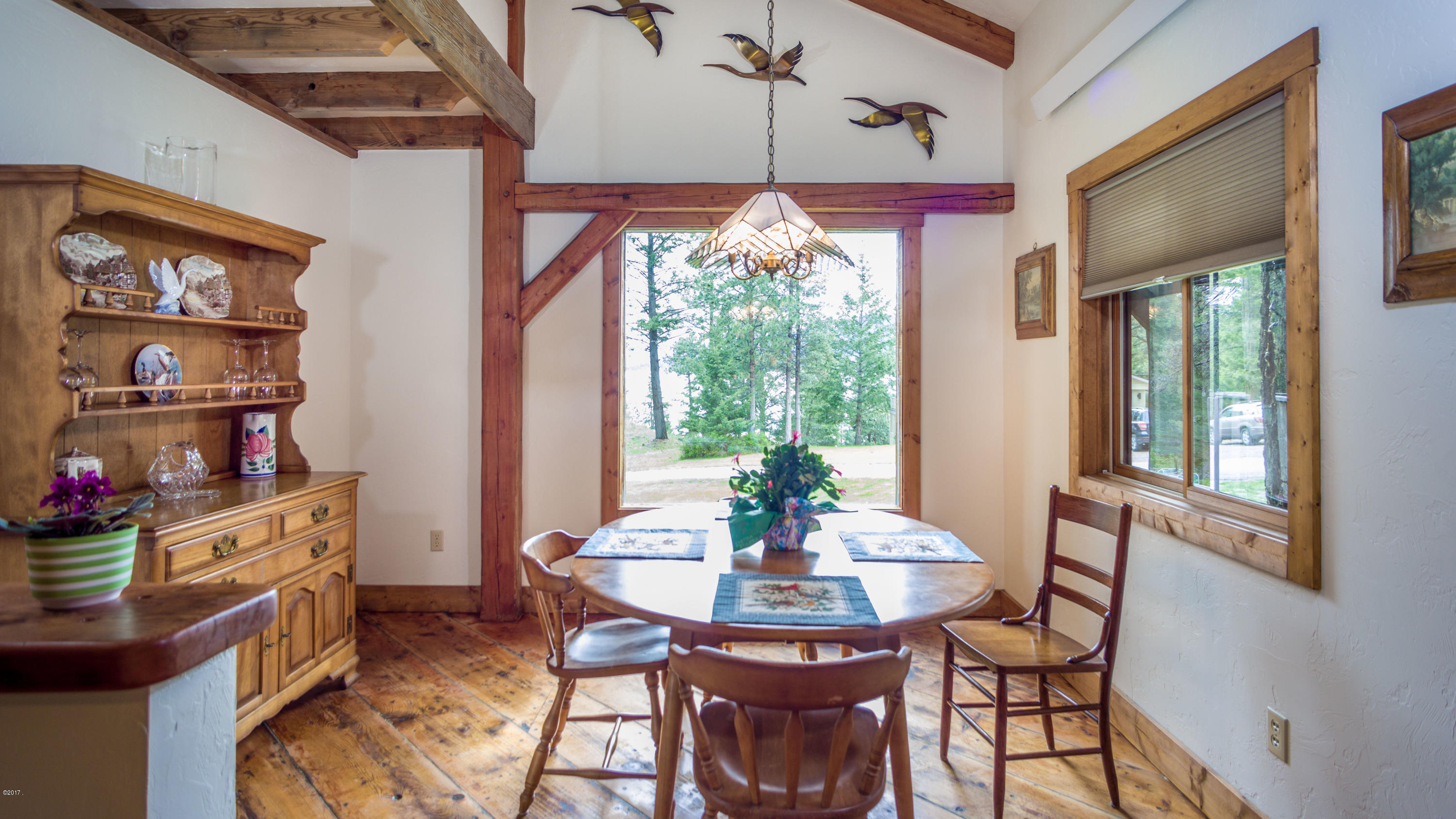 22 - Dining Room with Flathead Lake View