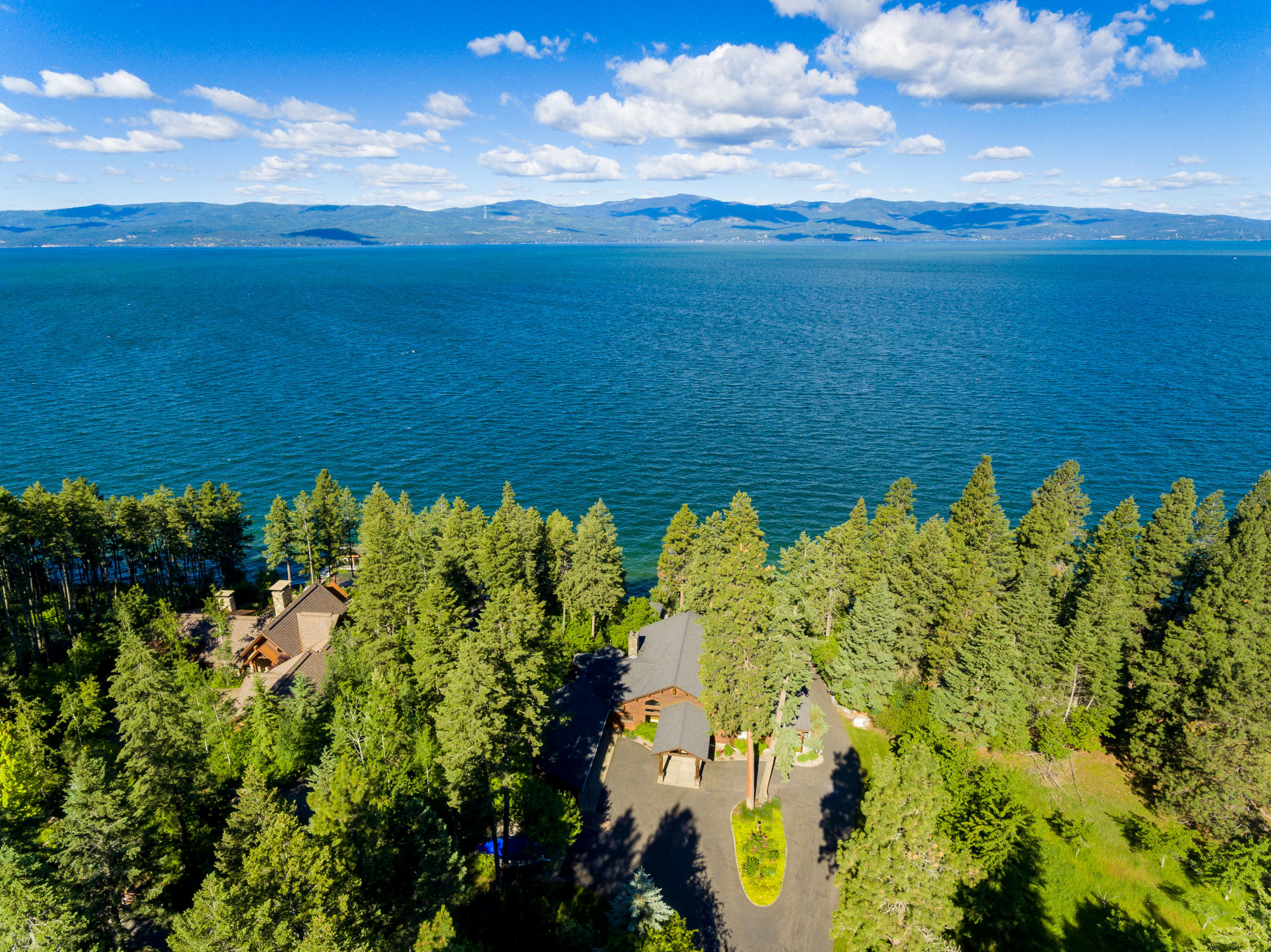 Home and Flathead Lake