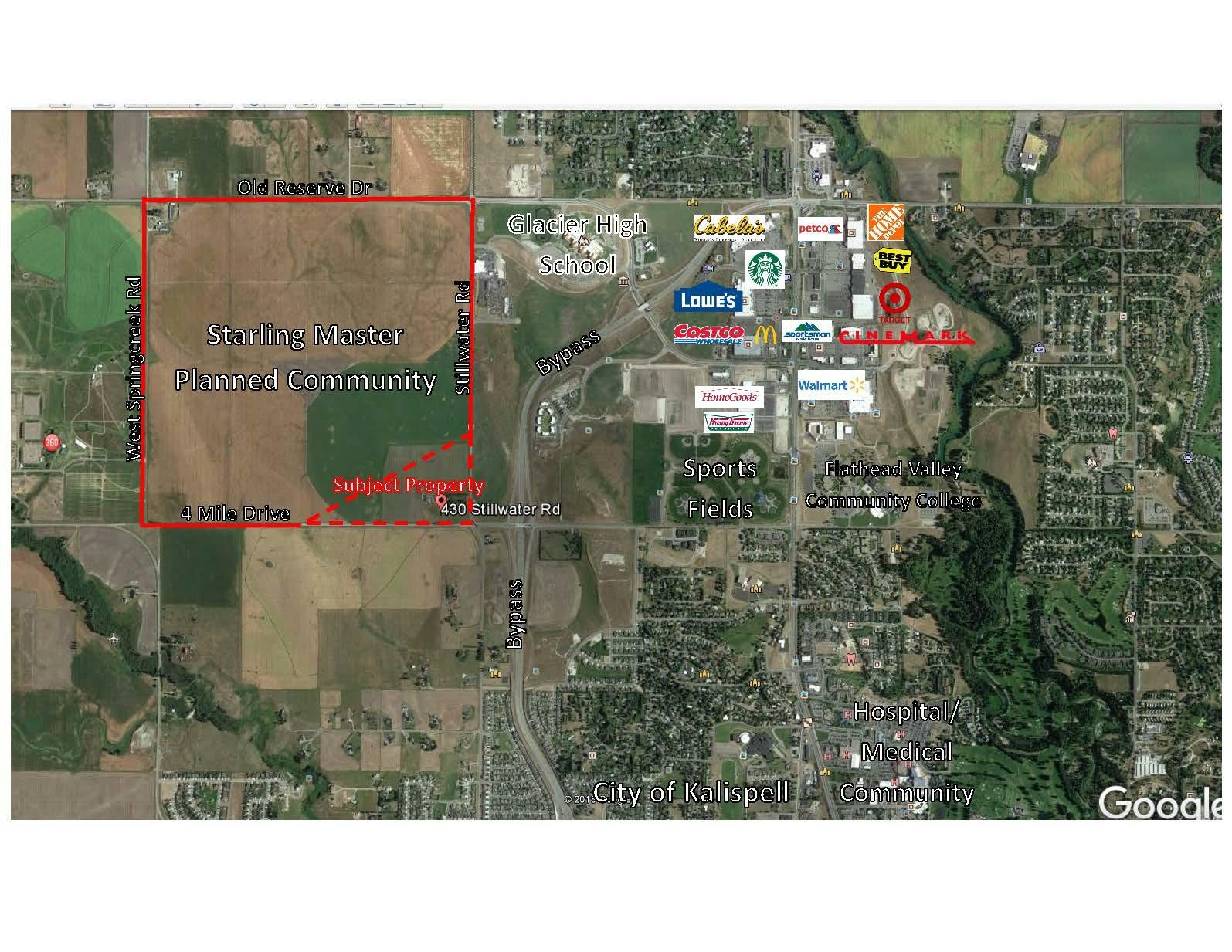 Land for Sale at 430 Stillwater Road in Kalispell, Montana
