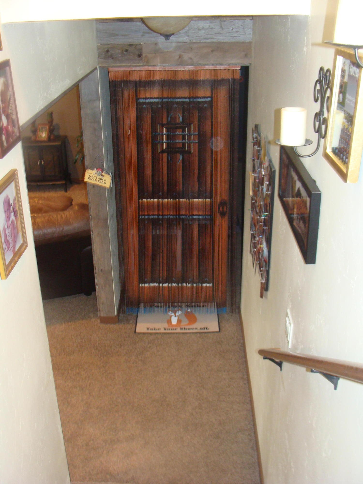 faux door Bonus room