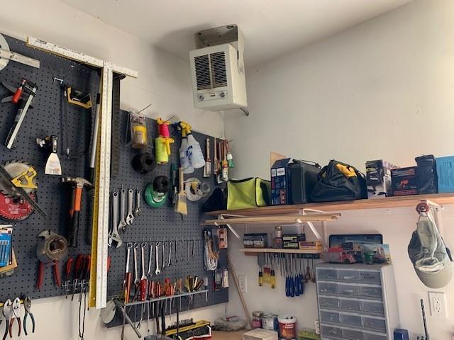 heated insulated garage