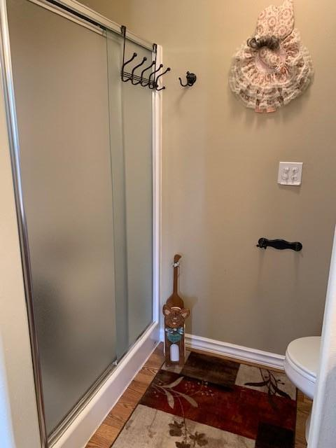 master bedroom shower area