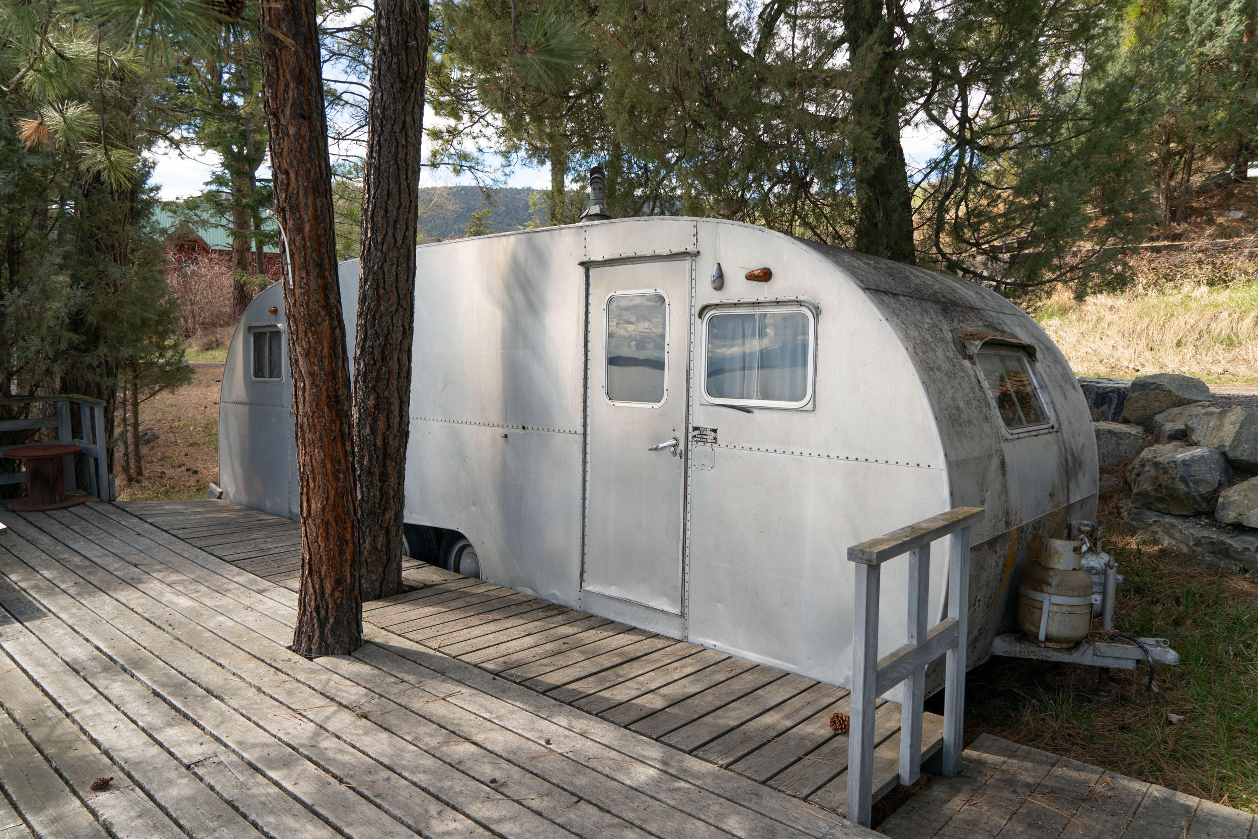 Waterfront Trailer with Deck