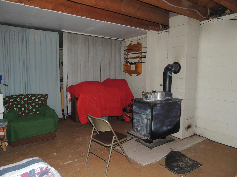 basement woodstove