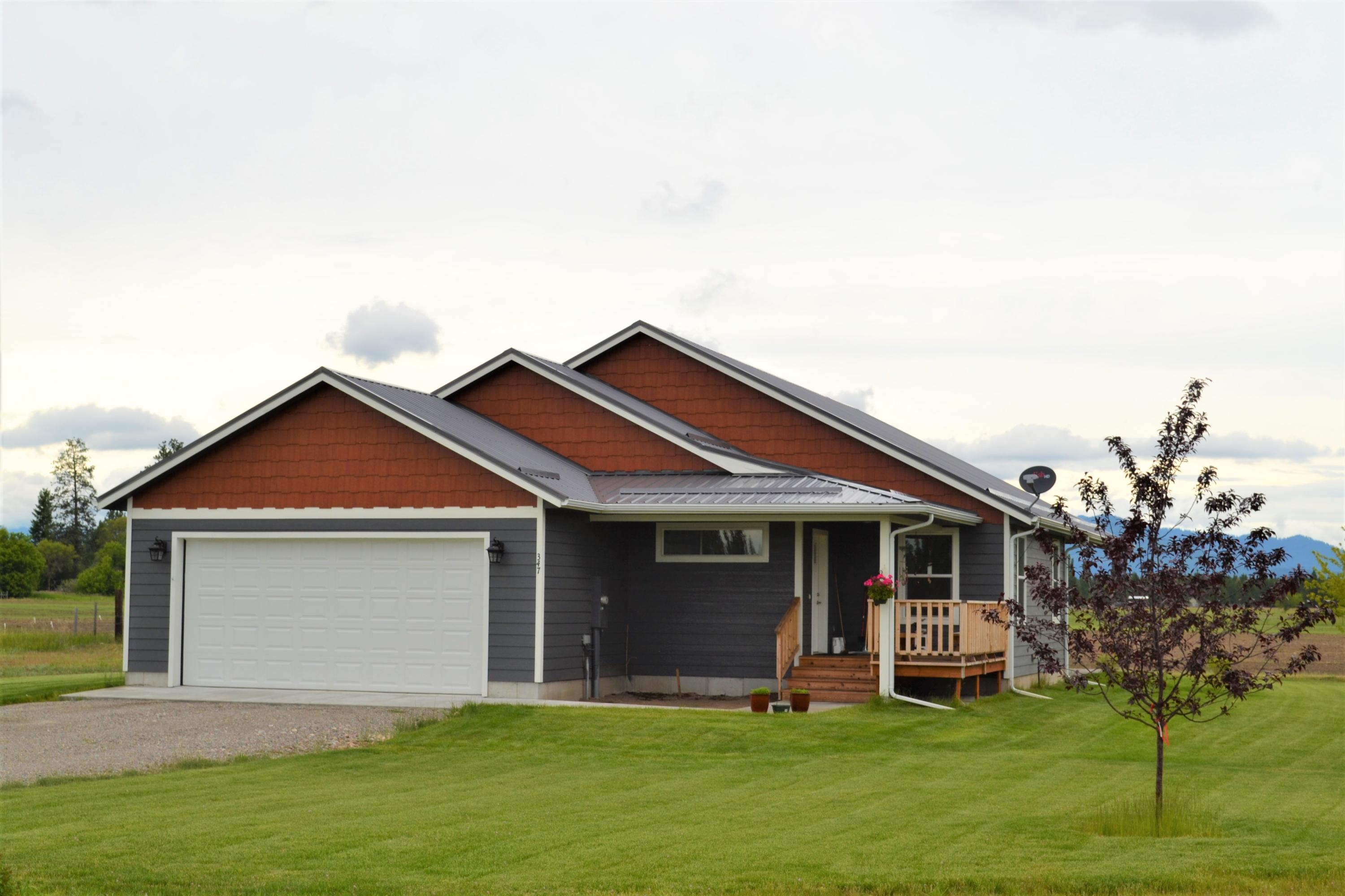 Home for Sale at 347 Badrock Drive in Columbia Falls