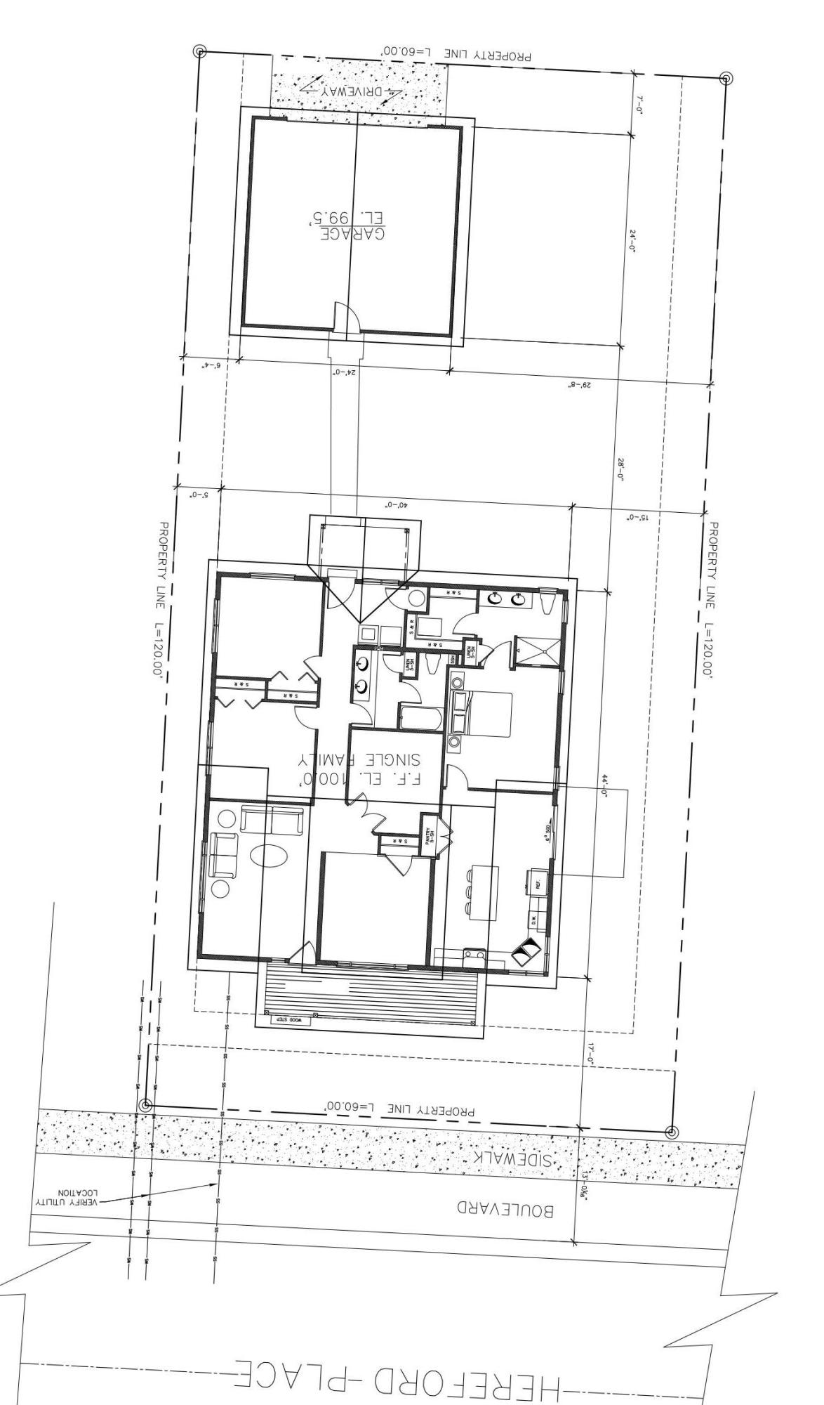 Hereford site plan
