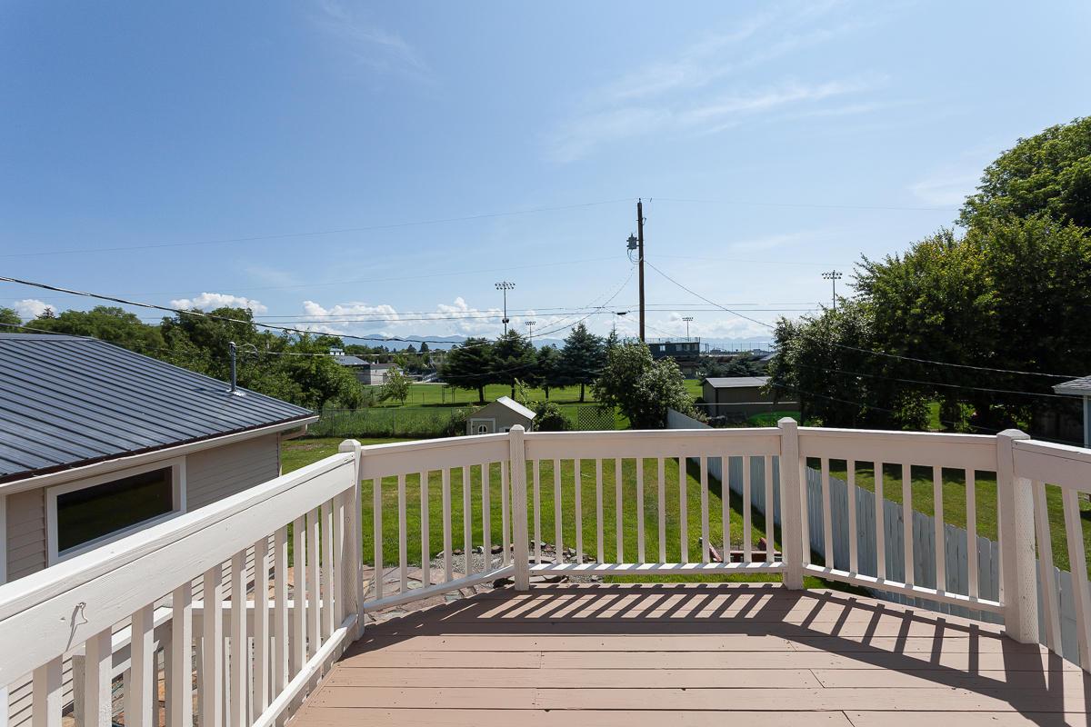 Deck Overlooks Ballpark