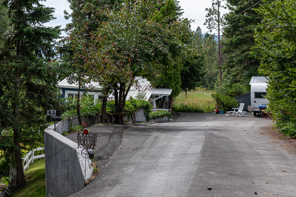 Upper Paved Driveway