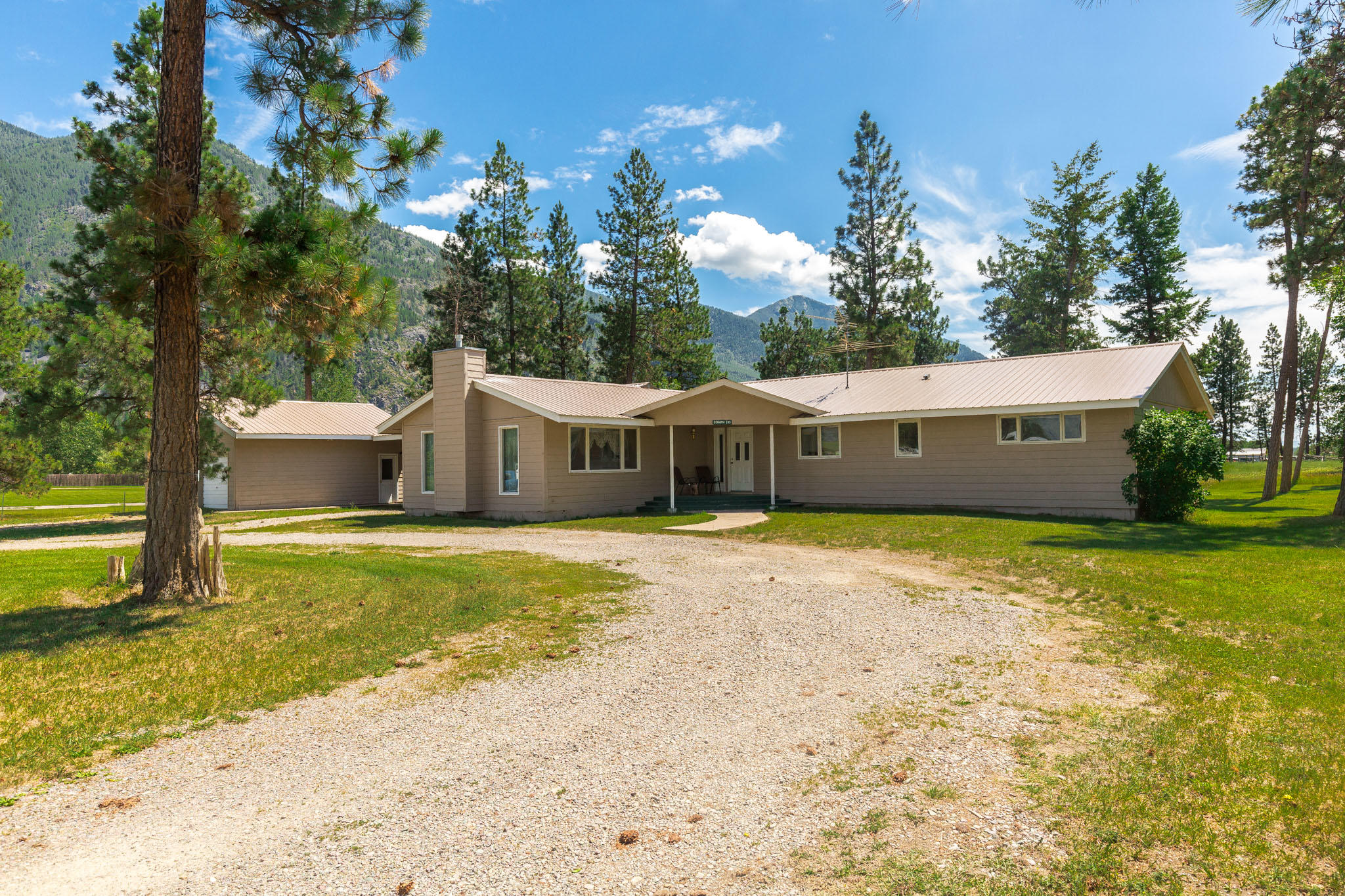 Home for Sale at 295 Jensen Road in Columbia Falls, Montana