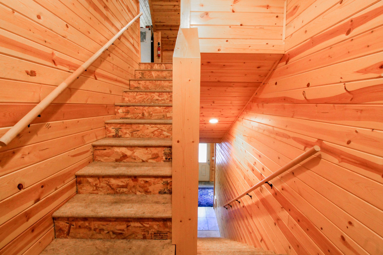 90 Irish Bend - Apartment Stairs