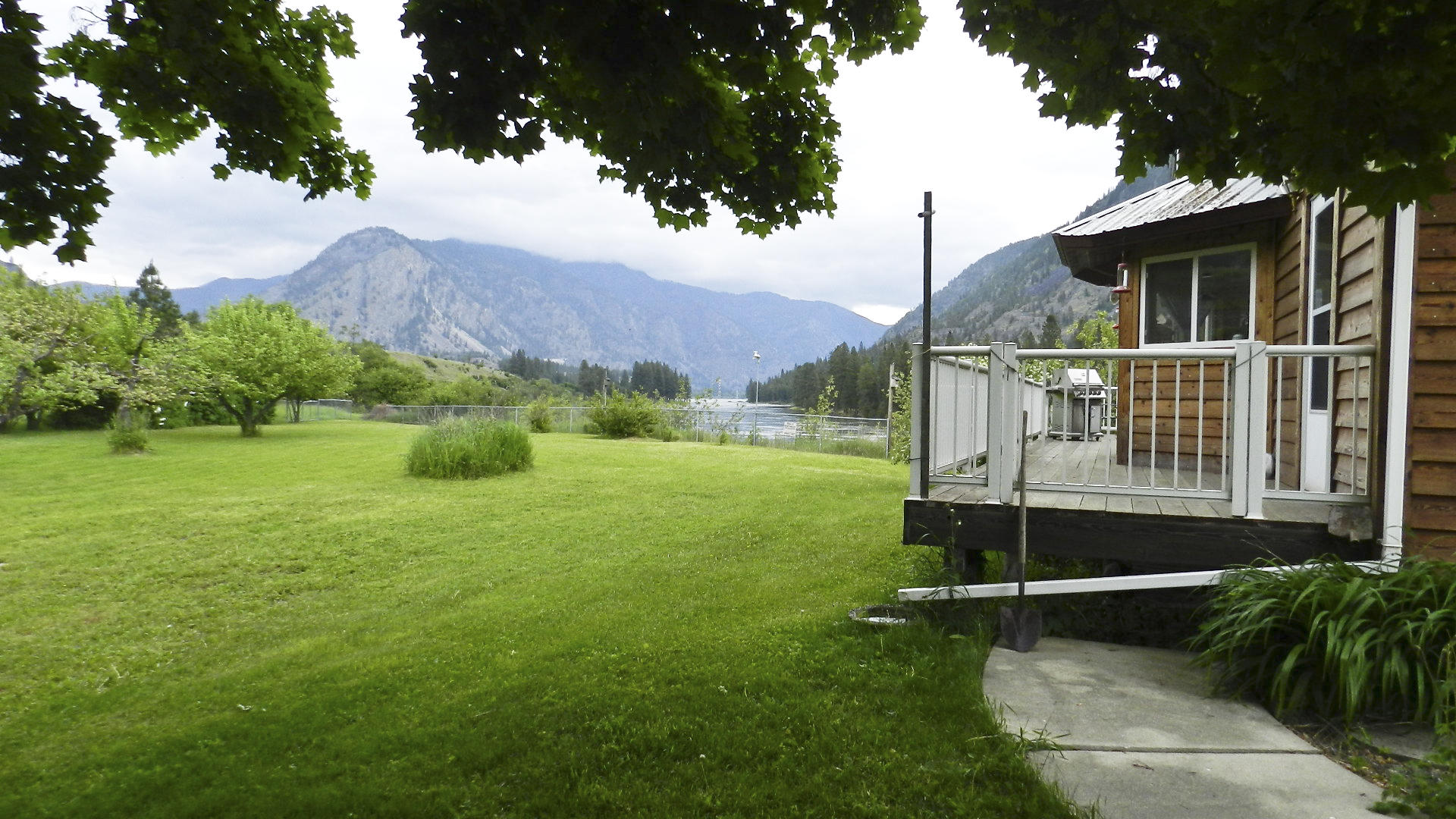 Sustainable potential in this waterfront home in Thompson Falls, MT