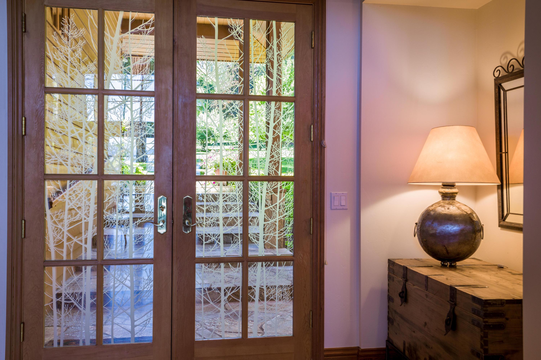 front door on the inside