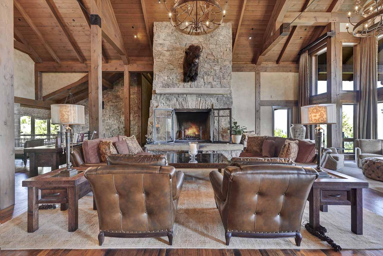 Massive Fireplace