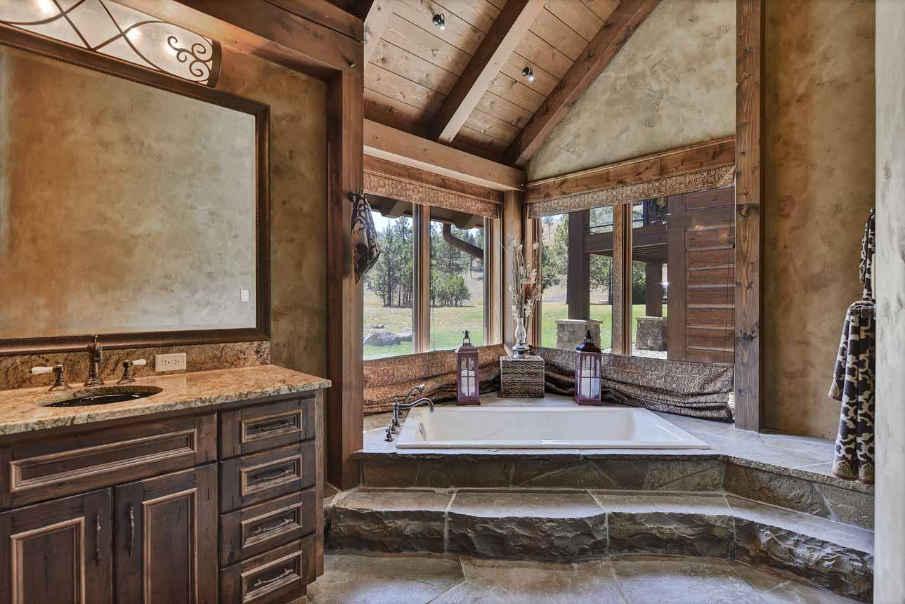 Large Soaking Tub