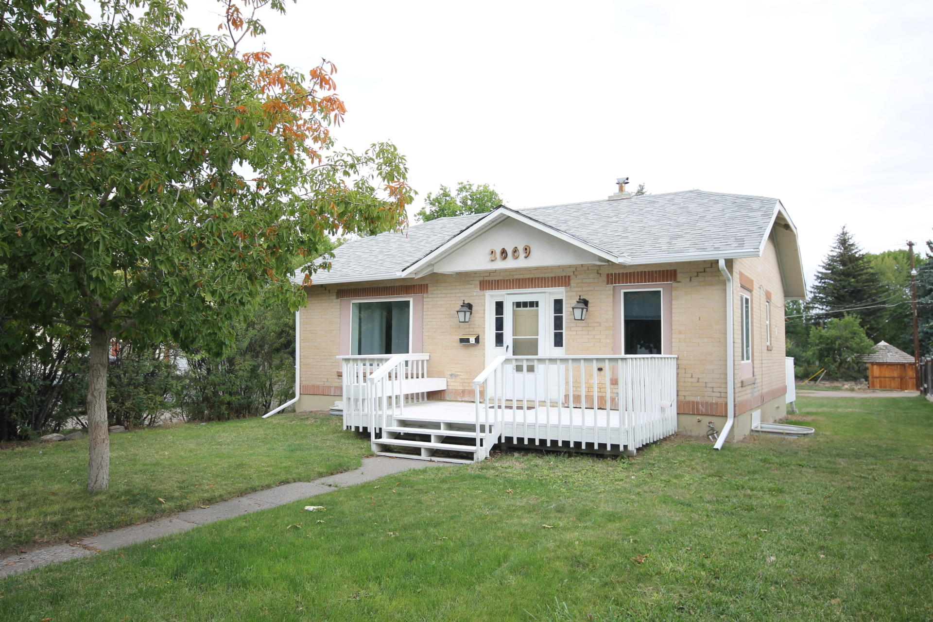 Move in ready updated home!  This cute brick home is ready for it's new owner. Updated kitchen, baths, electrical service and a lot of plumbing. Back deck leads out to a nice sized back yard.