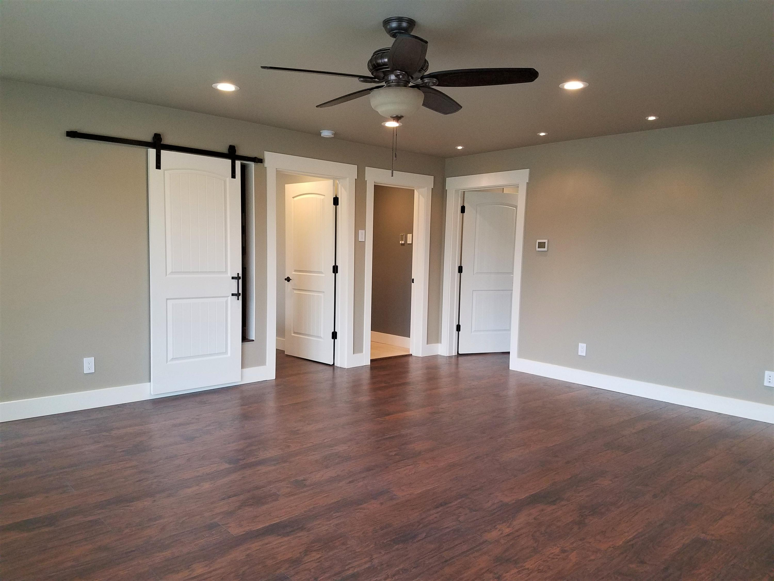Fam room to bedrooms and half bath