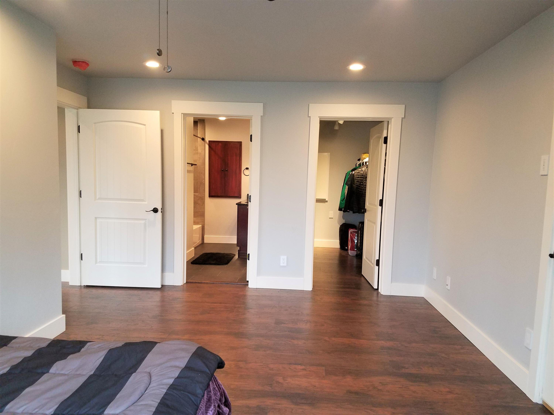 Master Bedroom, full bath & closet
