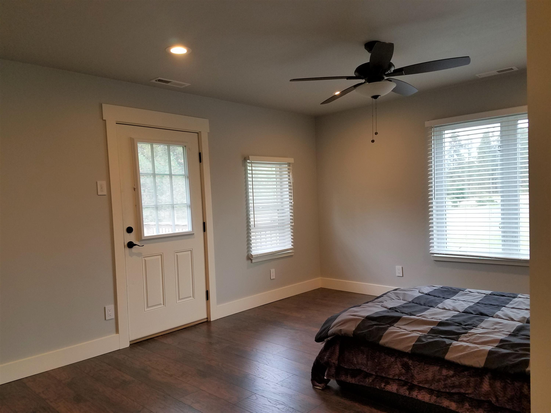 Master Bedroom; door to deck