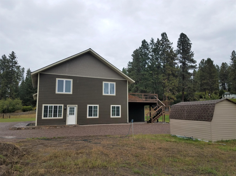 S Elevation & shed