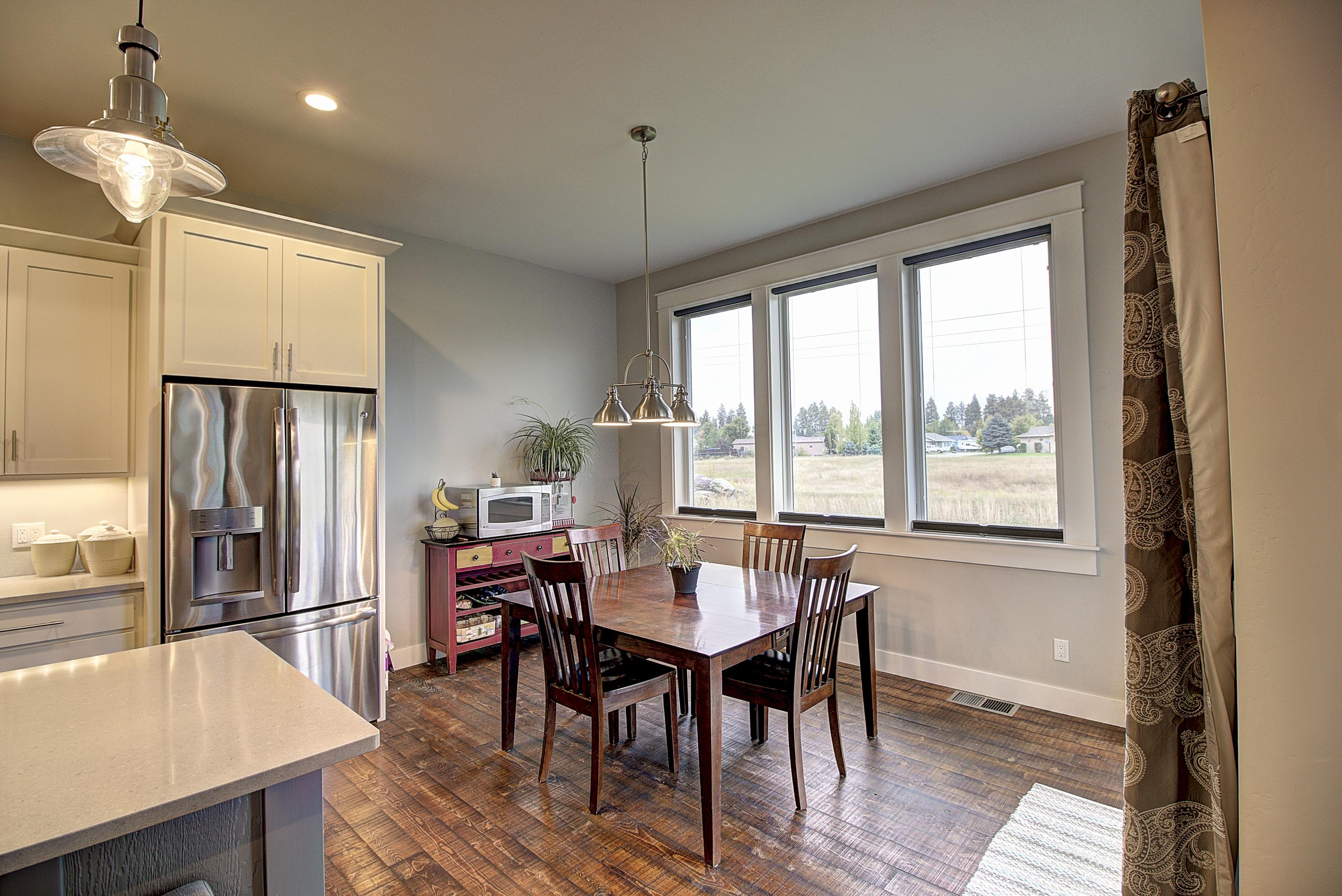 Kitchen to Dining Room View