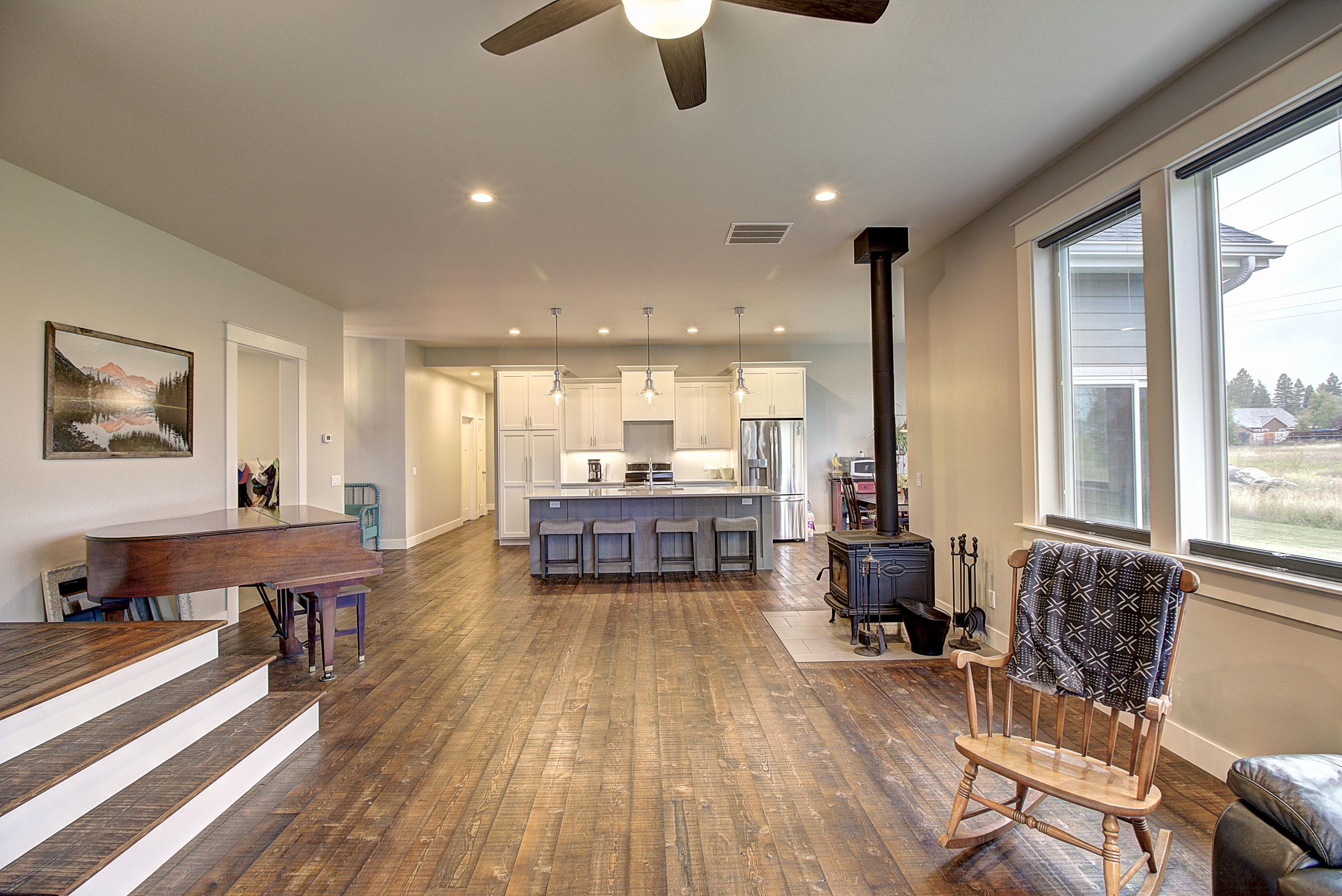 Living Room to Kitchen View