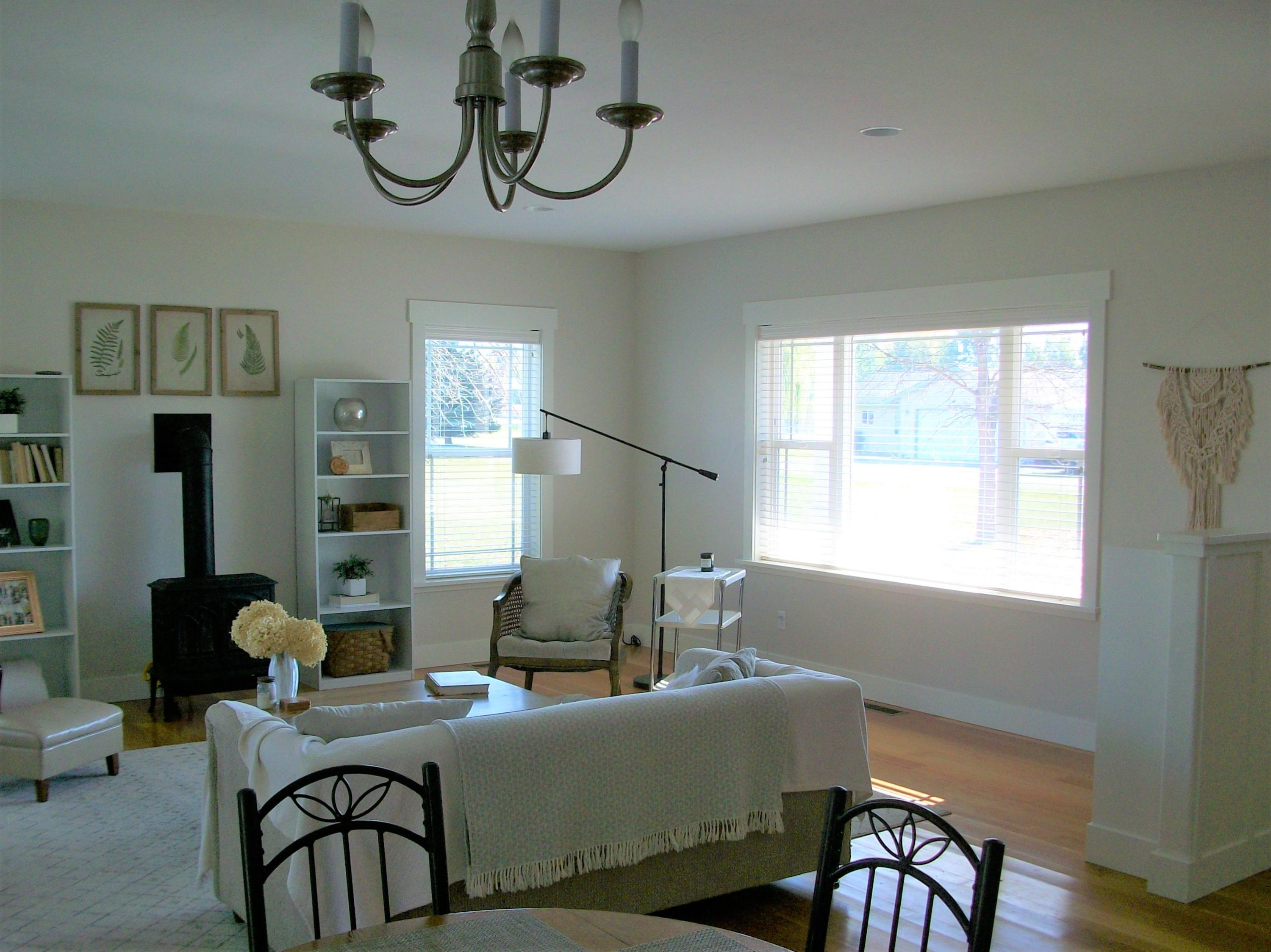 Dining Area into Living Room