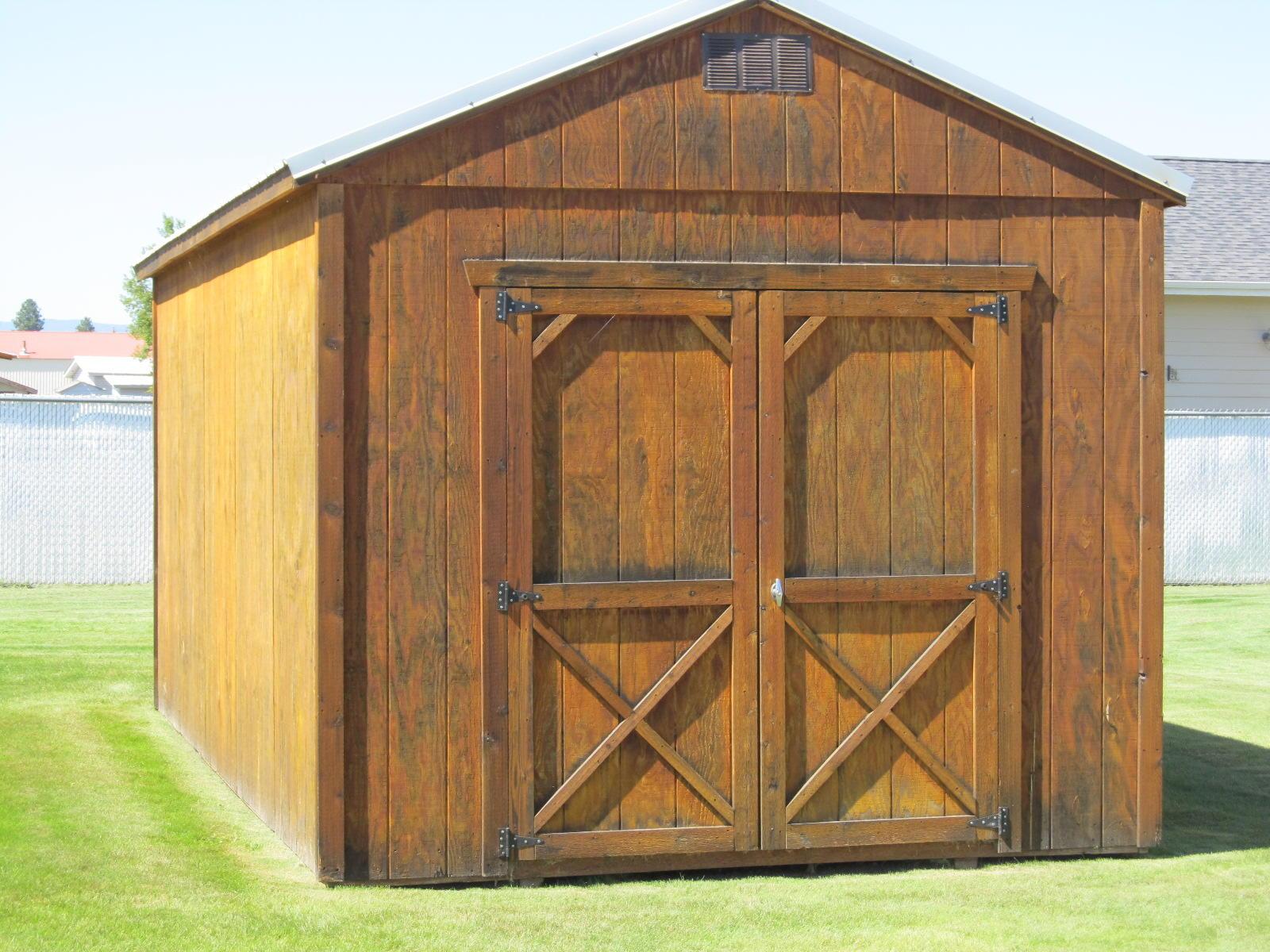 10X12 Cedar Shed.