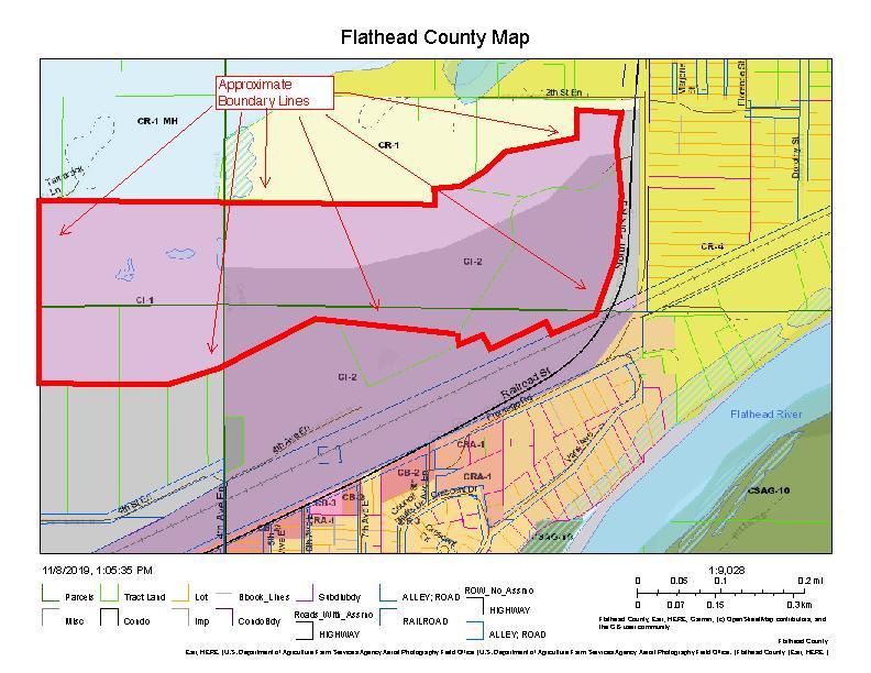 Flathead County Map