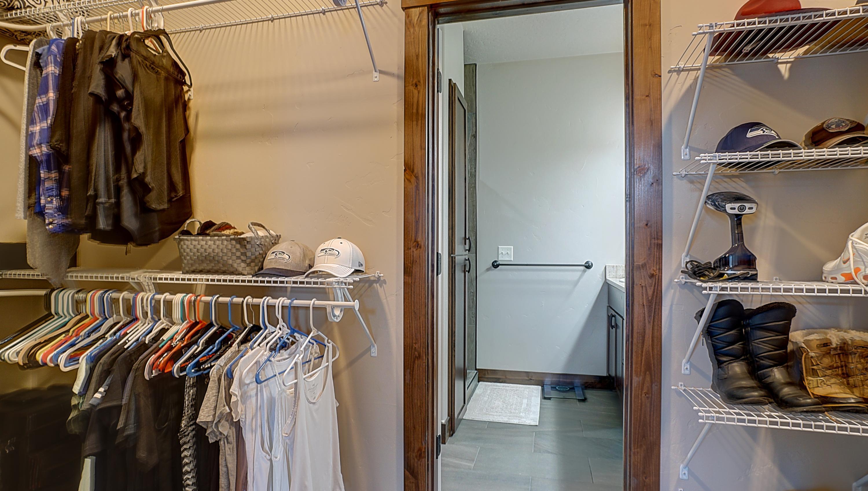Master Closet to Bathroom