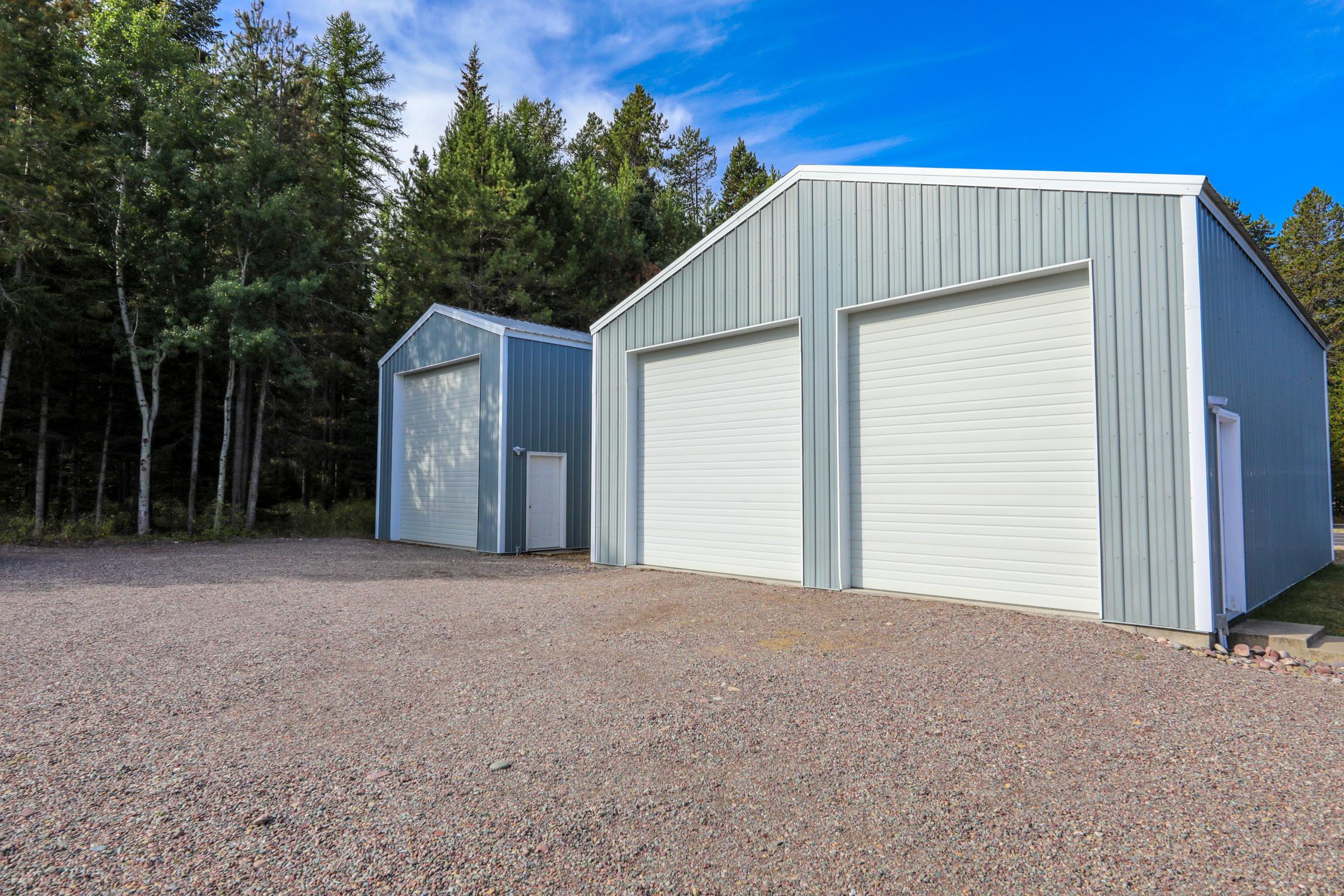 Two shops/RV storage