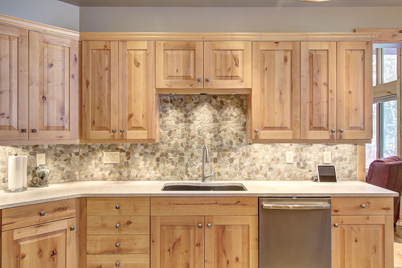 Stone Backsplash in Kitchen