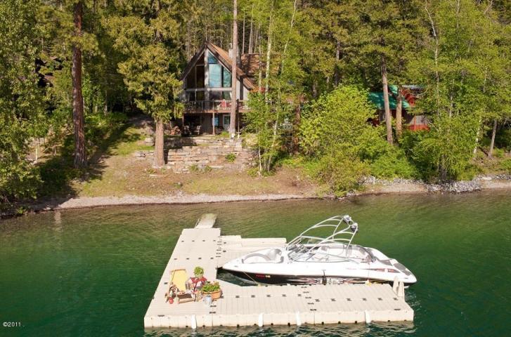 Main home/ dock/ summer