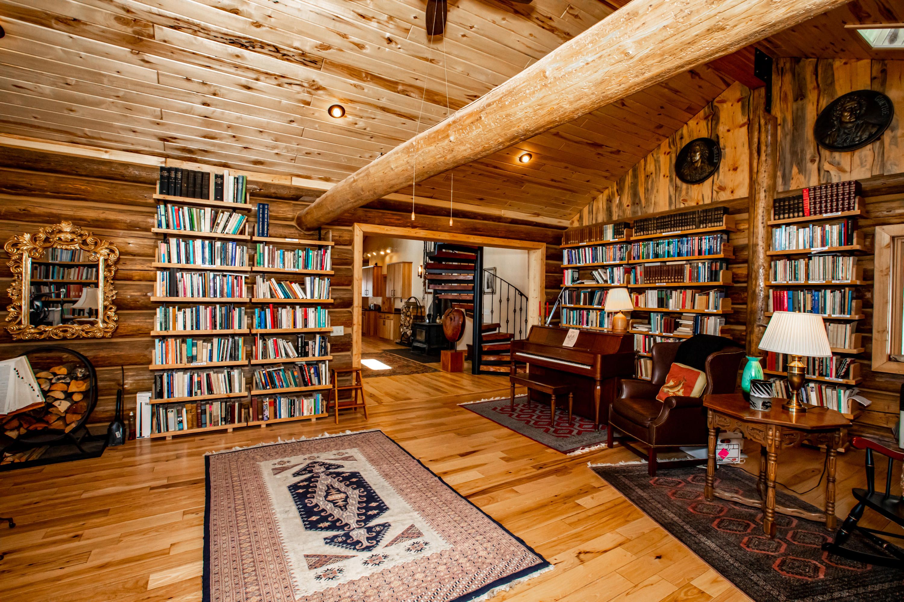 main lodge office/library