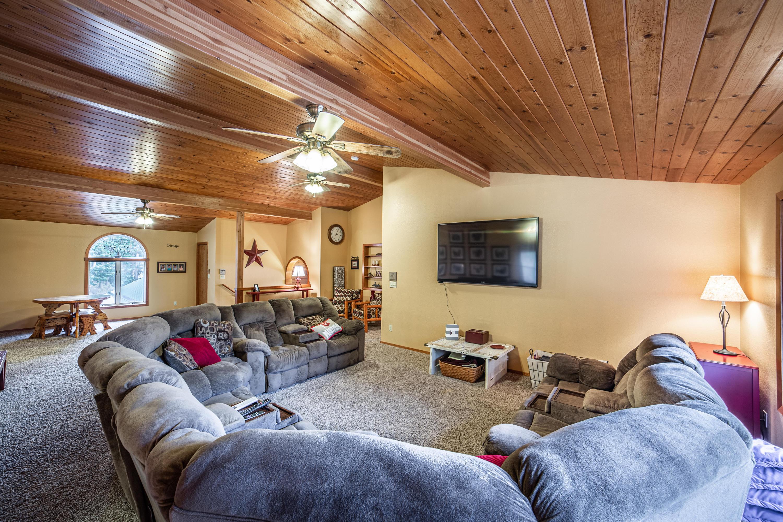 Living Room above Garage