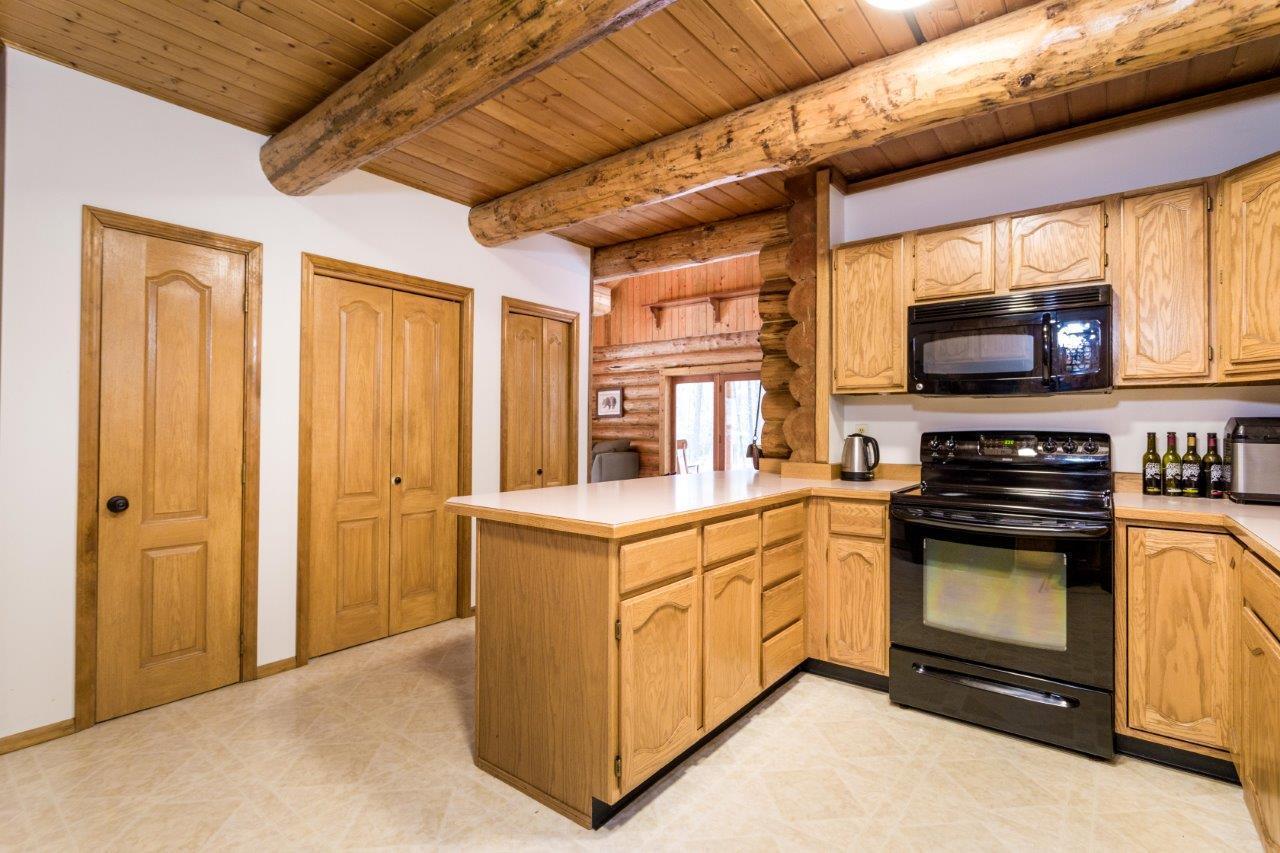 Kitchen has a Pantry