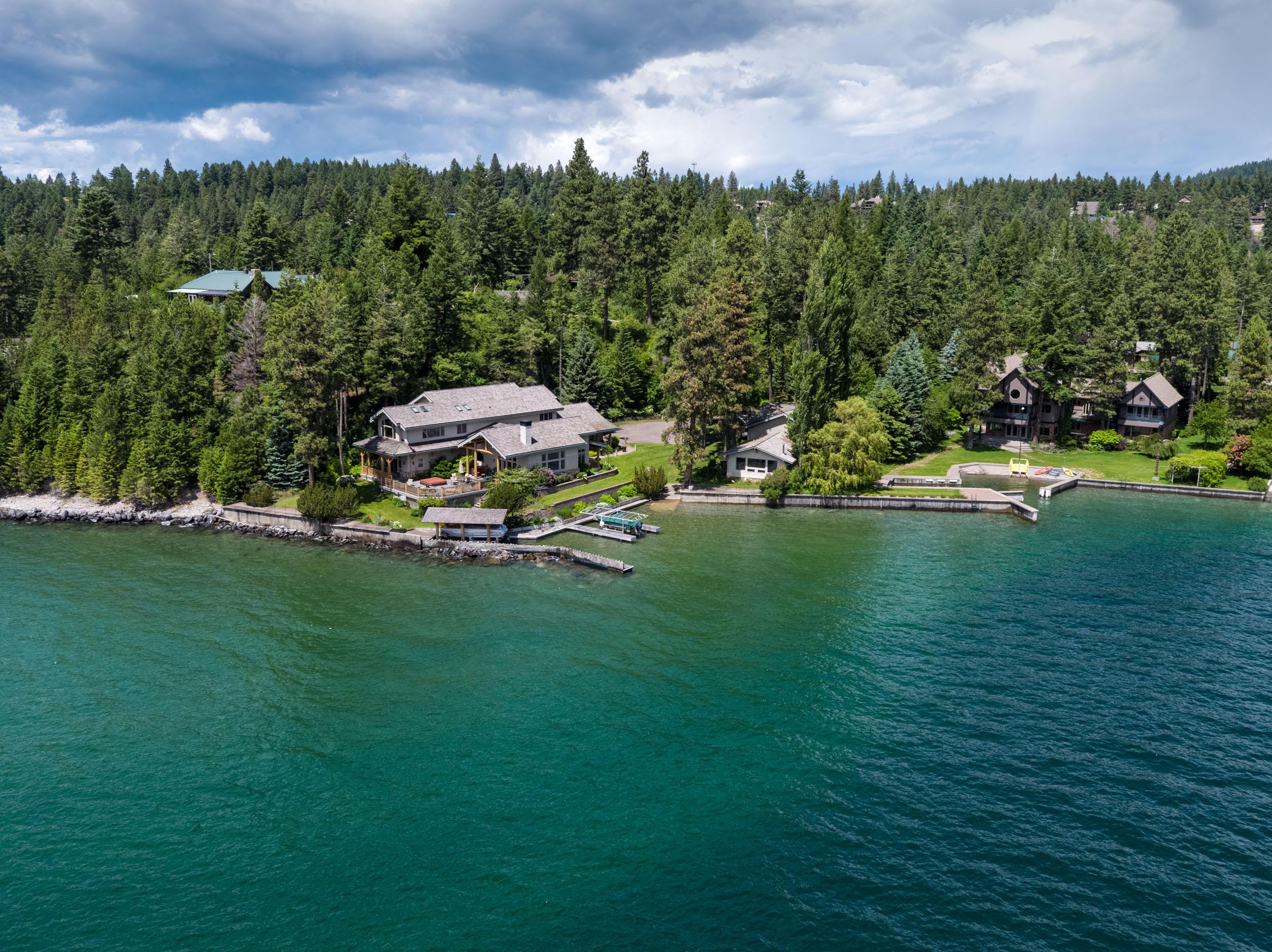 Stunning Flathead Lake Estate